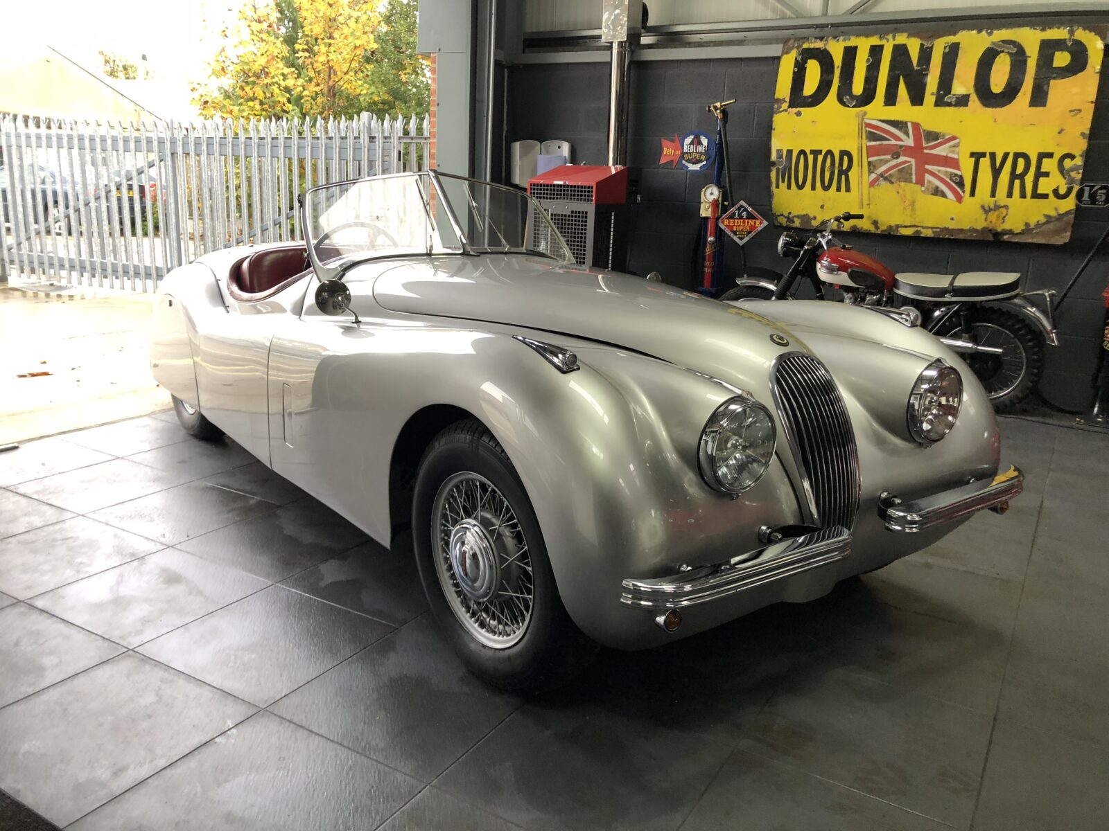 1951 Jaguar XK120 OTS - Yorkshire Classic & Sports Cars