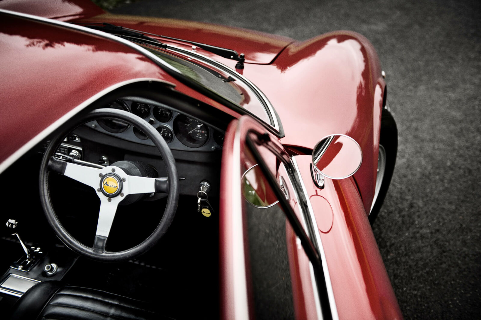YCSC Yorkshire Classic and Sports Cars - Ferrari Dino